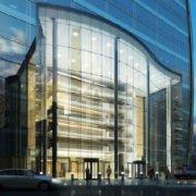 shopping center rendering