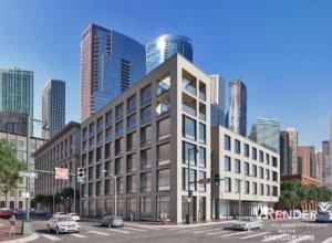 Federal Office Buildings 3D rendering