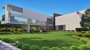 University Buildings Renderings