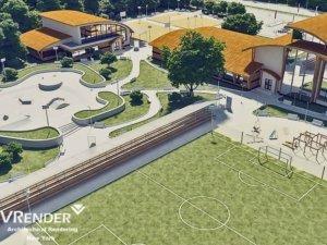 University Sports and stadium renderings