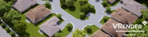 3D Aerial View Rendering Services
