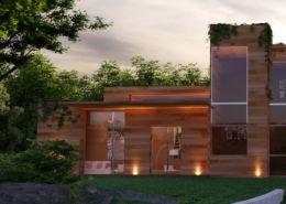 3D Rendering of houses