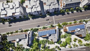 3D aerial architectural animations