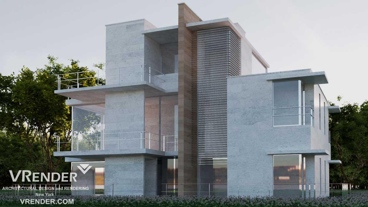 3d visuals villa