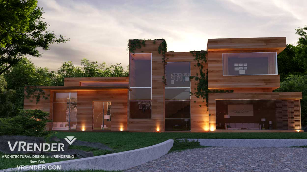 Lakeview House rendering