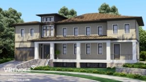 country house 3d images