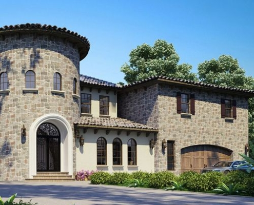 Architectural 3D rendering services Houston Texas