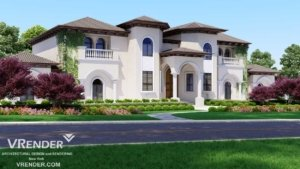 Premium Project Marketing USA 3D Rendering for Your Projects