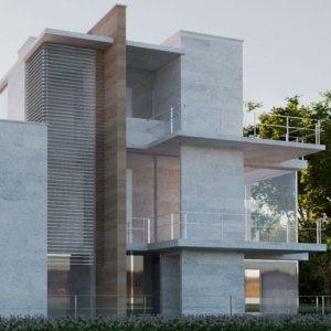 Vrender architectural design rendering