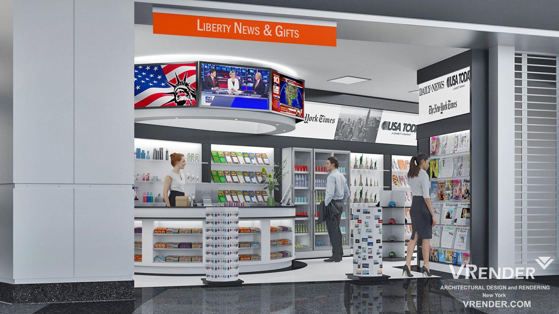 Retail Interior Rendering