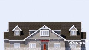 CAD Elevation Rendering