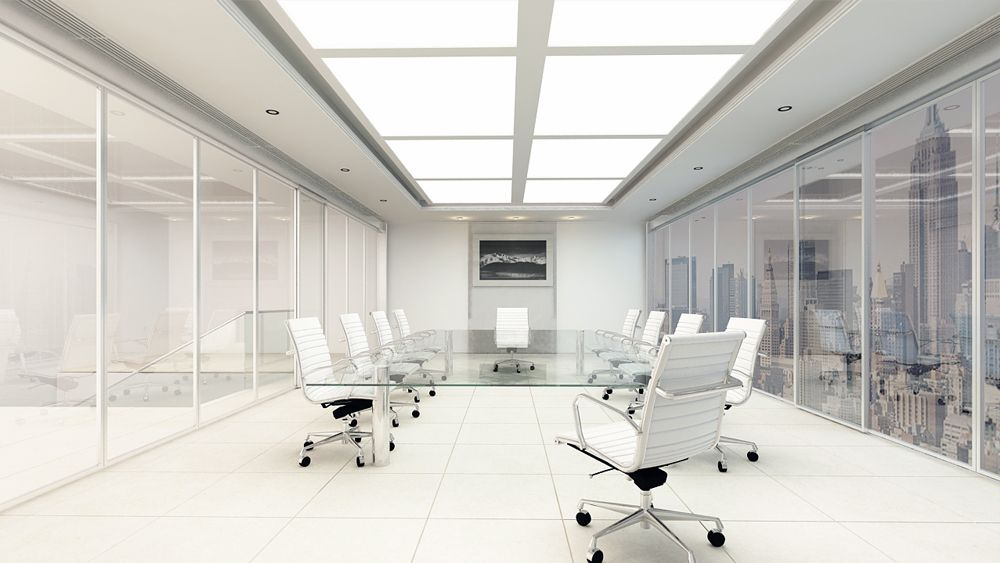 Office Conference Rooms Renderings