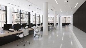 Office Open Areas Renderings
