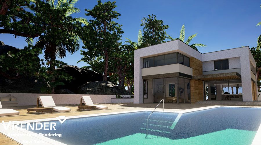 3D Exterior Illustration Service