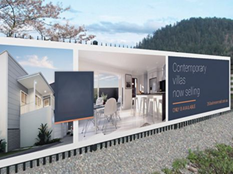 residential rendering adversting