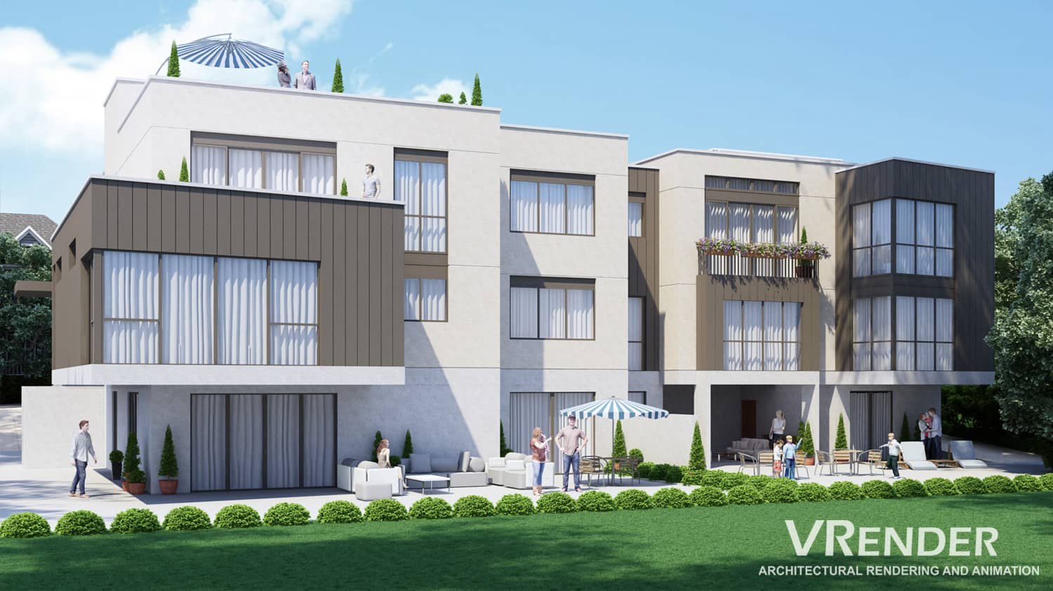 professional 3D Architectural Rendering for real estate
