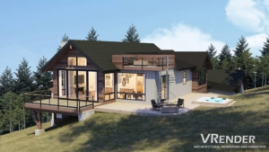 3D visualization for architects and real estate firms