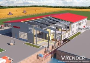 3d rendering for civil engineers
