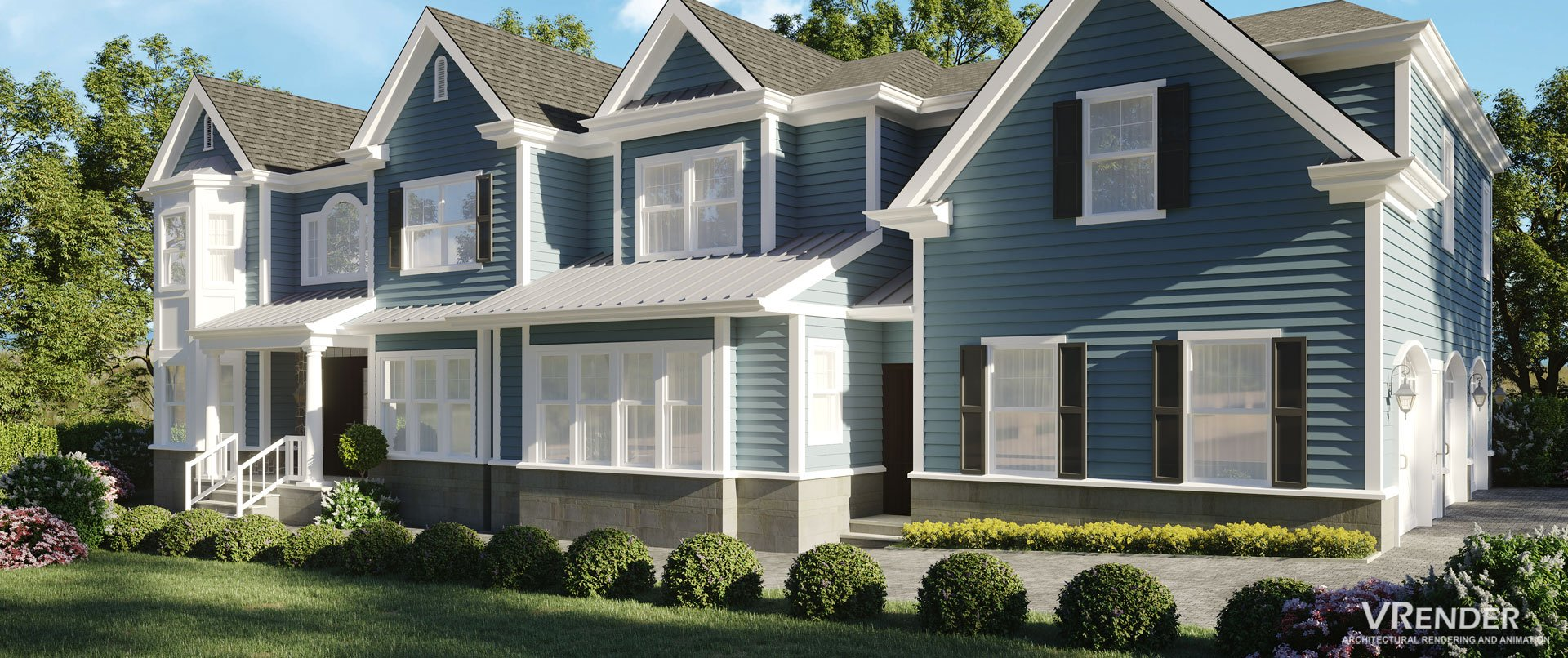 Vrender Architectural 3D rendering Services HD