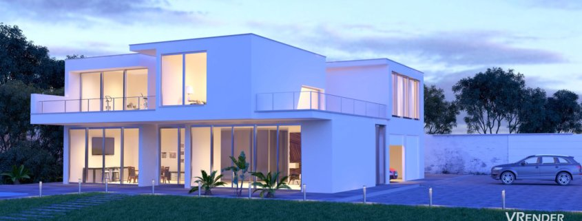 Vrender Architectural Animation and 3D walkthrough
