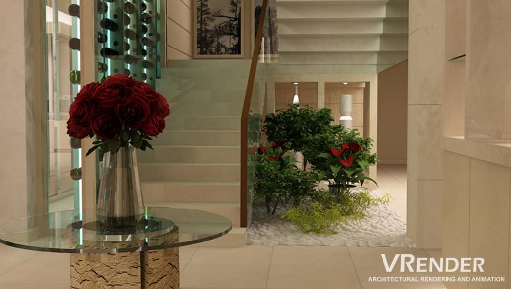 realistic 3D renderings