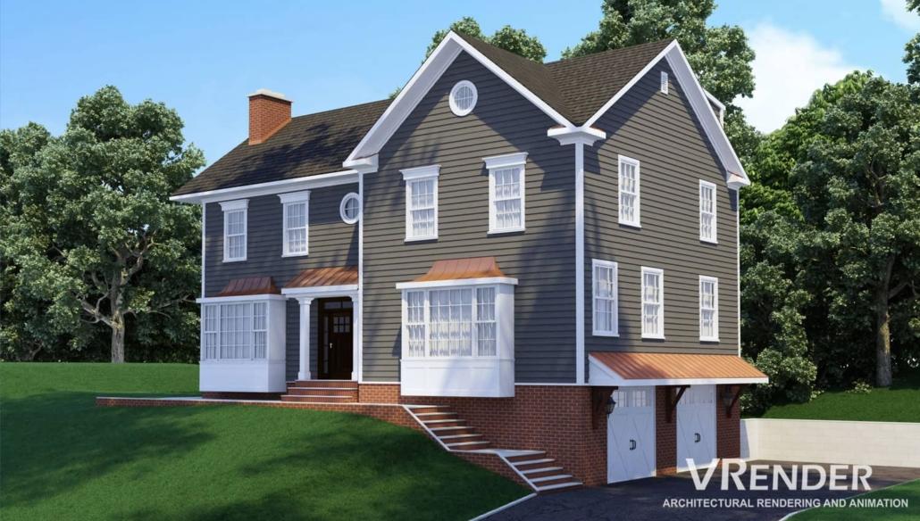 residential building rendering