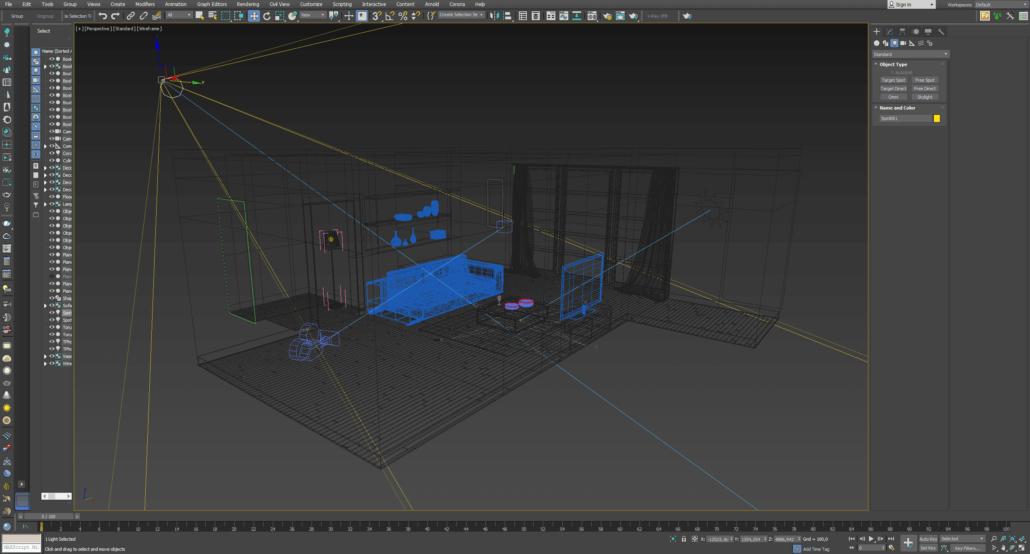 3D walkthrough service